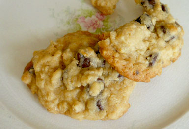 Everyday Oatmeal Chip Cookies, Little House by the Dunes